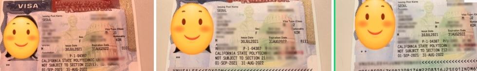 미국 방문연구원 J1비자 3인 가족 합격 후기