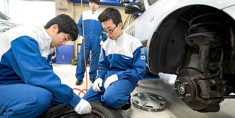센다이 이쿠에이 고등학교 기술 개발 과정